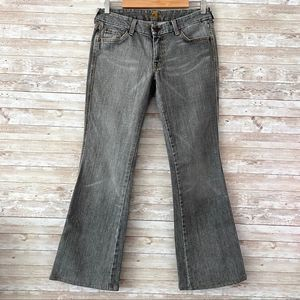 7 for all Mankind A Pocket Gray Jeans Sz 30